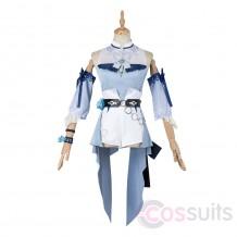Jean Sea Breeze Dandelion Costume Game Genshin Impact Cosplay Outfit