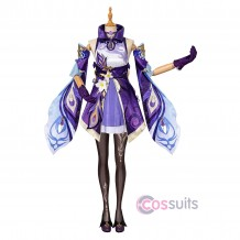 Keqing Cosplay Costumes Game Genshin Impact Cosplay Suit