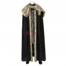 King of The North Cosplay Outfits Game of Thrones Season 8 Jon Snow Costume