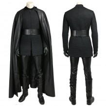 Kylo Ren Cosplay Costume Star Wars 8 The Last Jedi Outfits