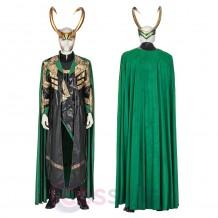 Loki Cosplay Costume 2021 TV Loki Laufeyson Armor Suit