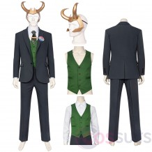 2021 LOKI New Cosplay Costume LOKI Cotton Suit