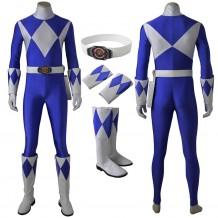 Mighty Morphin Power Rangers Billy Cranston Blue Ranger Cosplay Costume