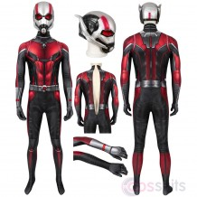 Ant-Man and the Wasp Scott Cosplay Costume Jumpsuit With Mask