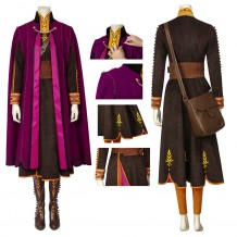 New Frozen 2 Costume Anna Cosplay Suit
