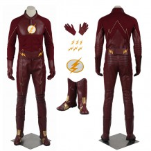 The Flash Season 2 Barry Allen Costume Cosplay Suit