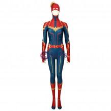 Captain Marvel Suit Carol Danvers Cosplay Costume