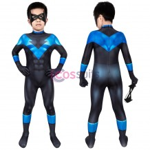 Nightwing Costume For Kids Batman: Under The Red Hood Nightwing Jumpsuit For Children Halloween