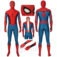 Peter Parker Cosplay Costumes Spider-Man Far From Home Jumpsuit