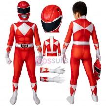 Power Rangers Kids Costume Power Rangers Jason Red Ranger Jumpsuit Halloween Gifts
