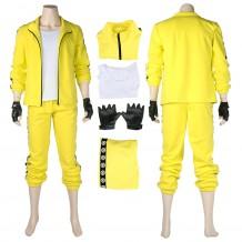 PUBG Yellow Tracksuit SET Battle Royale Cosplay Costume