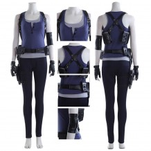 Resident Evil 3 Remake Costume Jill Valentine Cosplay Suit