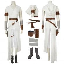 Rey Cosplay Costume Star Wars The Rise Of Skywalker Suit