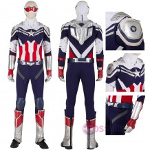 Sam Wilson Cosplay Costumes The Falcon and the Winter Soldier Cosplay Suit