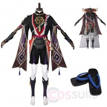 Scaramouche Costume Game Genshin Impact Cosplay Outfit