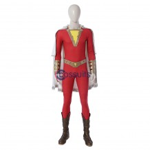 Shazam Cosplay Costume Shazam Billy Batson Suit