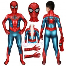 Spider-man Costumes for Kids Spiderman PS4 Spider Armour MK IV Jumpsuit For Halloween