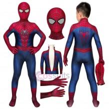 Spider-man Cosplay Costumes for Kids The Amazing Spiderman Halloween Children Costumes