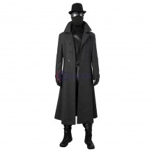 Spider-Man Noir Suits Into the Spider-Verse Cosplay Costume