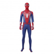 Marvel Spider-man PS4 Costume Cosplay Jumpsuit For Men