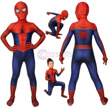 Spiderman Into The Spider-Verse Peter Parker Cosplay Jumpsuit For Kids Halloween Gifts