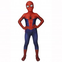 Spiderman Into The Spider-Verse Peter Parker Cosplay Jumpsuit For Kids