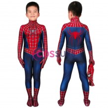 Spider-man Kids Suits Spiderman 2 Tobey Maguire Jumpsuit Cosplay Costume For Children