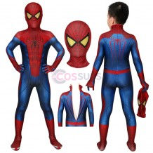 Spider-man Kids Suits The Amazing Spiderman Jumpsuit Cosplay Costume Christmas Gifts