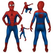 Spiderman PS4 3D Classic Cosplay Suit For Kids Halloween Children Costumes