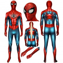 Spider-man PS4 Spider Armour MK IV Costume Cosplay Jumpsuit