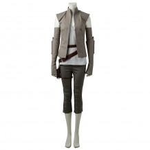 Star Wars The Last Jedi 8 Rey Cosplay Costume Suit
