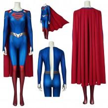 Supergirl S5 Cosplay Costume Kara Zor-El 3D Printed Jumpsuit