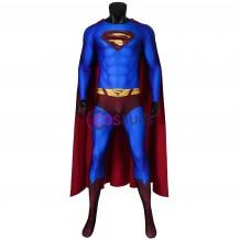 Superman Returns Clark Kent Jumpsuit Cosplay Costume