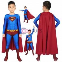 Superman Returns Costume Superman Clark Kent Cosplay Suit Christmas Gifts for Kids