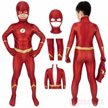 The Flash Costume For Kids The Flash Season 6 Barry Allen Halloween Children Costumes
