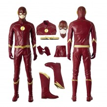 The Flash Costume Barry Allen Season 4 Cosplay Suit