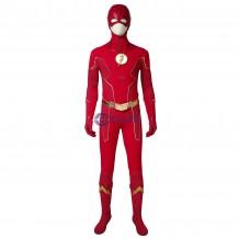 The Flash Season 6 Suit Deluxe Barry Allen Cosplay Costume