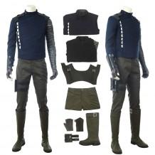 The Winter Soldier Costume Bucky Barnes Cosplay Suit