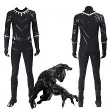 Black Panther Costume Captain America Civil War T'Challa Suit