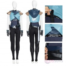 Valorant Jett Cosplay Costume Jett Cosplay Suit