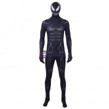 Venom Costume Cosplay Eddie Brock Jumpsuit 3D Printed