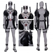 X-Force Deadpool Cosplay Costumes White Deadpool Cosplay Suit