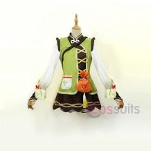 Yaoyao Costume Game Genshin Impact Cosplay Outfit