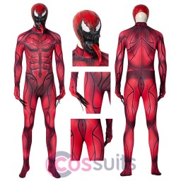 Venom 2 Red Cosplay Costumes Venom Let There Be Carnage Cosplay Suit