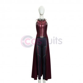 2021 WandaVision New Scarlet Witch Costumes Top Level Cosplay Suit