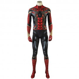Avengers: Endgame Avengers:Infinity War Peter Parker Iron Spider-Man Cosplay Costume Jumpsuit