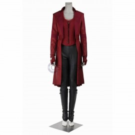 New Captain America Civil War Wanda Maximoff Scarlet Witch Cosplay Costume