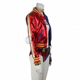 New Suicide Squad Harley Quinn Cosplay Costume