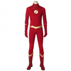 The Flash Season 5 Barry Allen Superhero Cosplay Costume