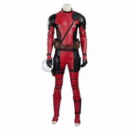 X-Men Deadpool Costume Wade Wilson Cosplay Suit
